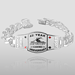 """Royal Series"" Custom Poker Bracelet - 2448"