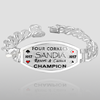 """Rounder Series"" Custom Poker Bracelet Rounder Series Custom Poker Bracelet"