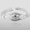 """Royal Series"" Custom Poker Bracelet Royal Series Custom Poker Bracelet"